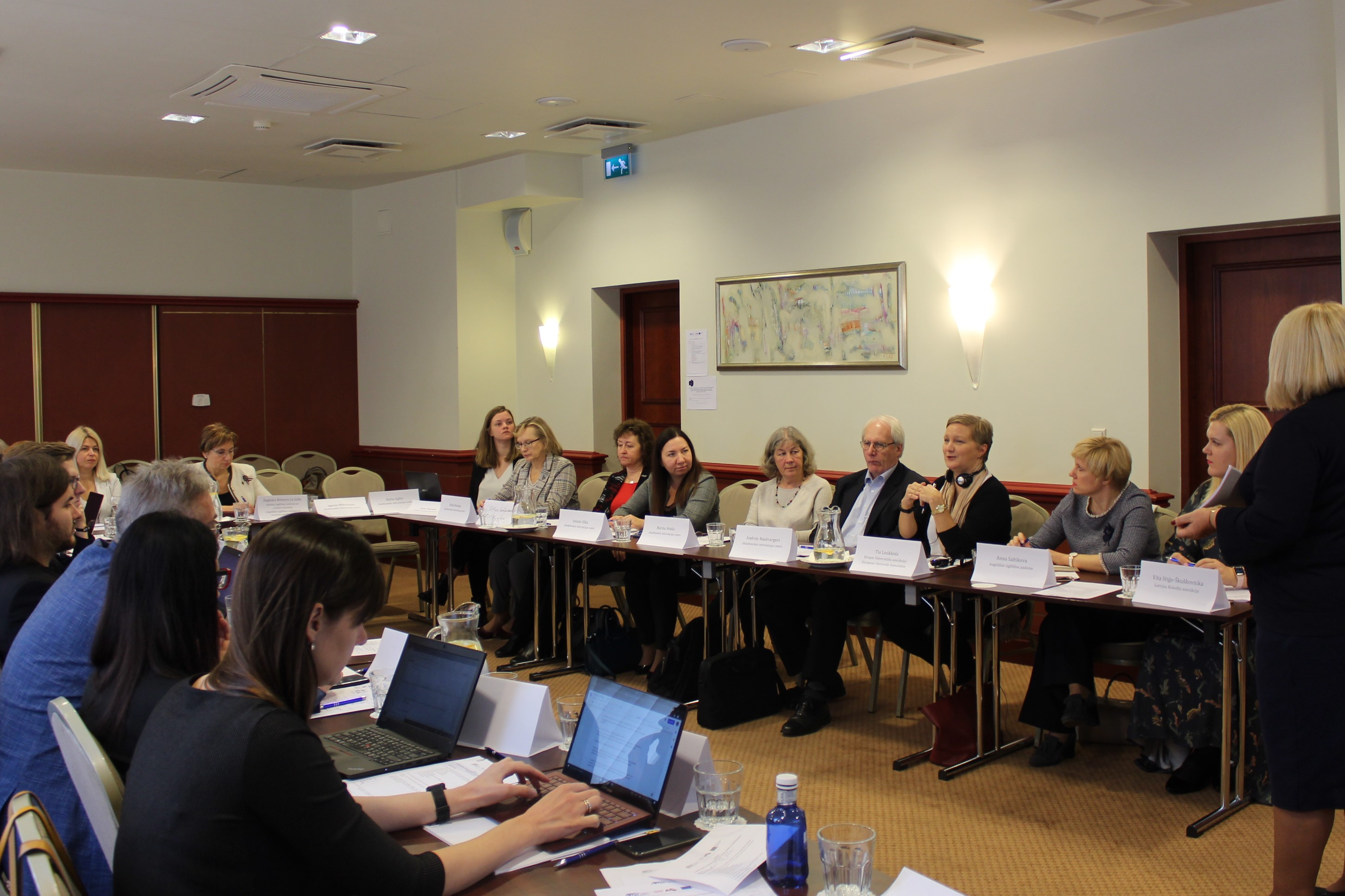Uzsākta diskusija par institucionālo akreditāciju