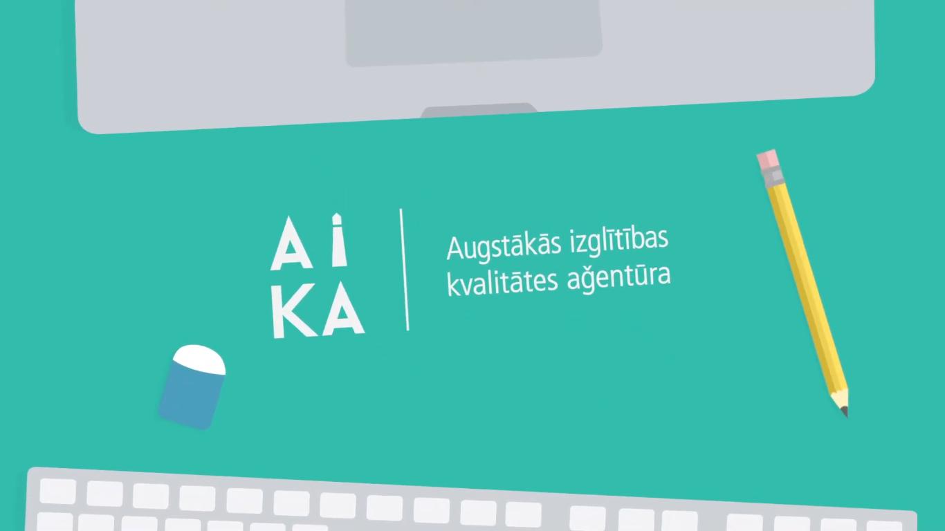 Izveidots video par AIKA īstenotās kvalitātes novērtēšanas procedūrām