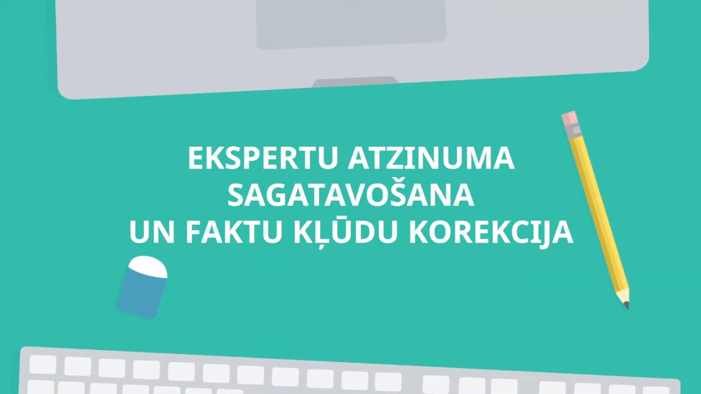 Izveidots video par ekspertu atzinuma sagatavošanu AIKA e-platformā