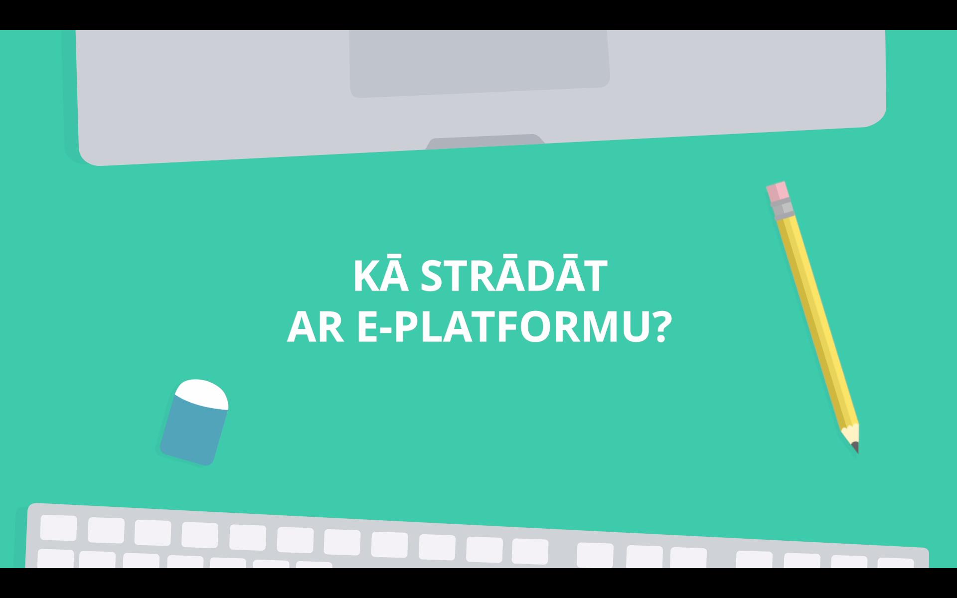Video par to, kā augstskolām strādāt ar AIKA e-platformu